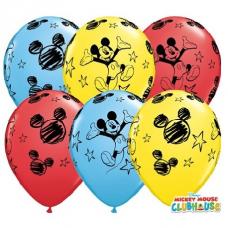 Balóny Mickey Mouse Q 11´´ RND