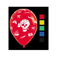 Balóniky TOP KVALITA Piráti mix 30 cm