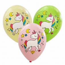 Balóny Jednorožec mix