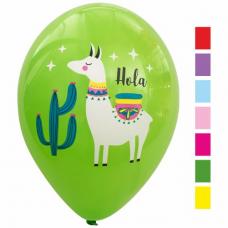 Balóny Lama mix