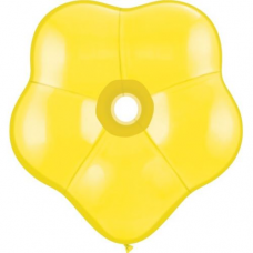 Balón žltý kvetinka  BSM Yellow 40cm
