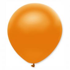 Balón metalický oranžový 32 cm