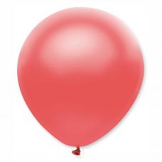 Balón metalický červený Ruby s310 32 cm