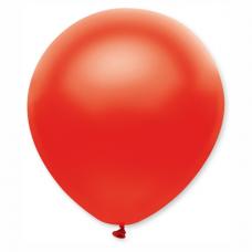Balón metalický červený 32 cm