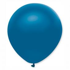 Balón metalický modrý s316 32 cm