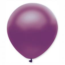 Balón metalický fialový 32 cm