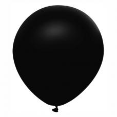 Balón metalický čierny 32 cm