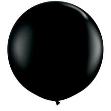 Balón čierny veľký 90cm Q - 3FT