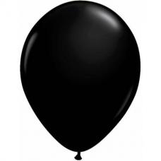 Balón čierny Q 5´´ Black
