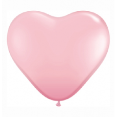 Balón latexový srdce Ružové Q 11´´ HRT Pink
