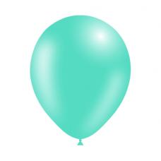 Balón Zelený mint p037 S10 - 26 cm