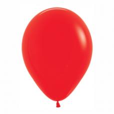 Balón Červený 015 R12 - 30cm