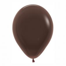 Balón hnedý Čokoláda 076 R12 - 30cm