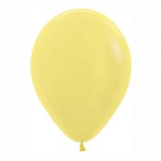 Balón metalický Žltý 420 R12 - 30cm