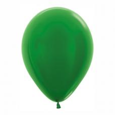 Balón metalický Zelený 530 R12 - 30cm