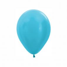 Balón metalický Karibská Modrá 438 R5 - 13cm