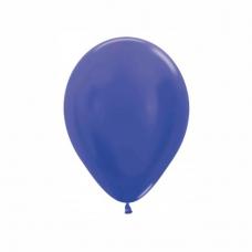 Balón metalický Modrá Hortenzia 542 R5 - 13 cm