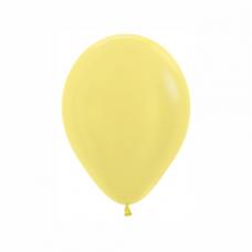 Balón metalický Žltý 420