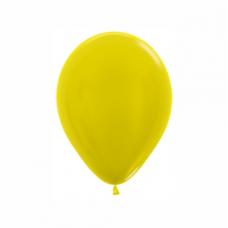 Balón metalický Žltý 520 R5 - 13cm