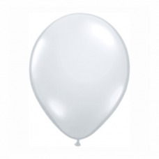 Balón priehľadný 28cm Diamond Clear