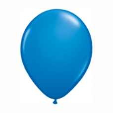 Balón modrý 28cm Dark Blue