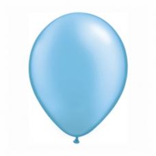 Balónik metalický bledo modrý 28 cm Azure PRL