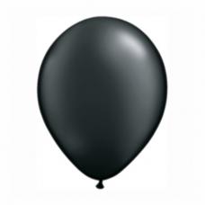 Balónik metalický čierny 28cm  Onyx Black PRL