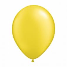 Balónik metalický bledo žltý 28cm Citrine Yellow PRL