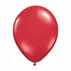 Balón Tmavo červený 28cm Ruby Red