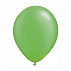 Balónik metalický zelený 28cm Lime Green PRL