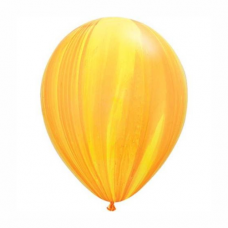 Balón oranžovo žltý dúhový 28cm Yellow Orange Rainbow