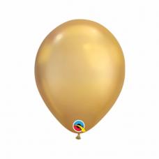 Balón metalický zlatý Chrome Gold 28cm
