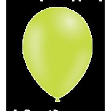 Balón Limetková zelená p036 S11 - 28 cm
