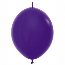 Balón naväzovací tmavo Fialový 051