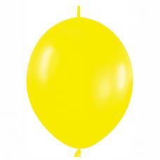 Balón naväzovací Žltý 020 15 cm