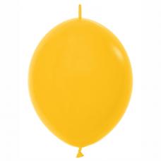 Balón naväzovací Žltý Goldenrod 021 28cm