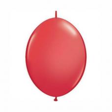 Balón Červený naväzovací Qlink 6´´