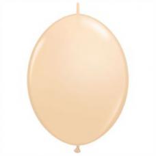 Balón naväzovací Qlink 12´´ Telový Blush