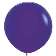 Balón Tmavo Fialový veľký 90cm - 3FT
