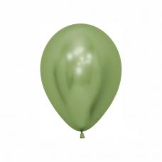 Balón Limetkovo zelený reflex R5 - 13cm