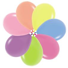 Balóniky AF70 - 7´´ mix neon 18cm
