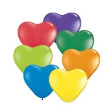 Balón CRD Srdce mix farieb 28cm