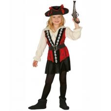 Detský kostým Pirátka