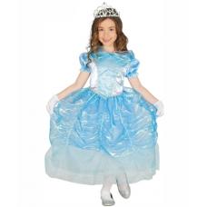 Detský kostým Princezná modrá
