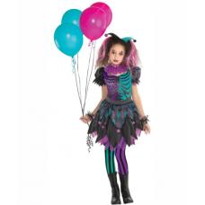 Dievčenský kostým Harlekýn