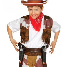 Kovbojský opasok s 2 pištoľami