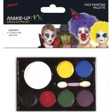 Farby na tvár Make Up FX 7 farieb