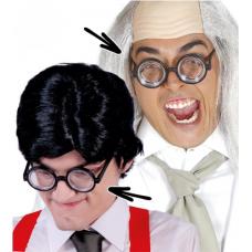 Okuliare hrubé sklá