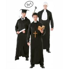 Kostým Študent / Sudca / Kňaz