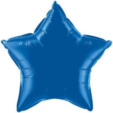 Balón hviezda Modrá tmavá 45 cm